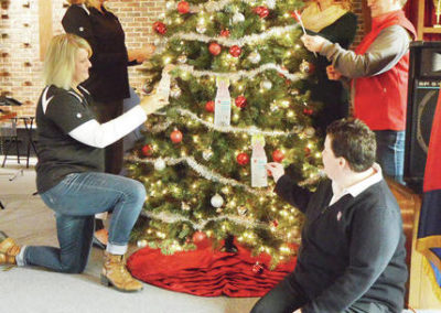 Salvation Army Angel Tree Donation